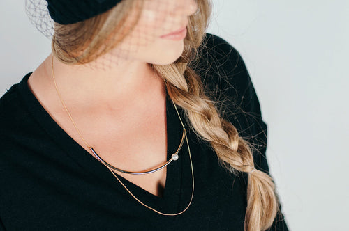 Revello double - layer necklace