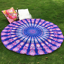 2017 New Multi-color Large Stylish Indian Mandala Round Tapestry- Shipping Included.
