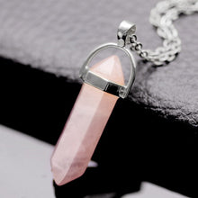 Gem Stone Crystal Pendant Necklace 75% OFF and Free Shipping