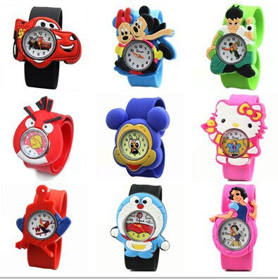 Children Cute Jelly Cartoon Quartz Watches, Many Styles To Choose From/ Free Shipping