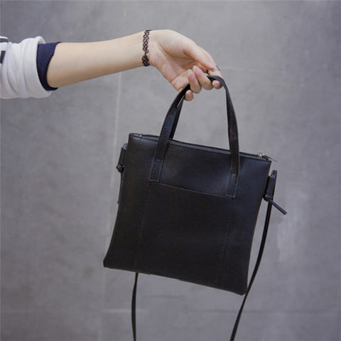 Women Messenger Cross-body Bag black