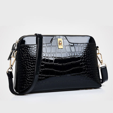 Famous Design Luxury  Leather Crossbody Bag/Purse