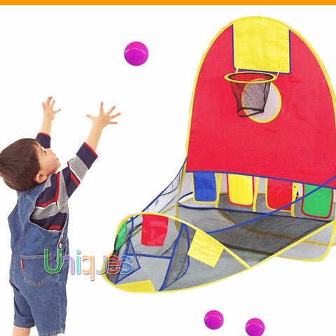 Play House Basketball Basket Tent Game For Loads Of Fun/ Free Shipping