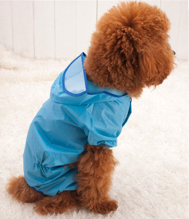 Raincoat Poncho For Your Dog/ Free Shipping