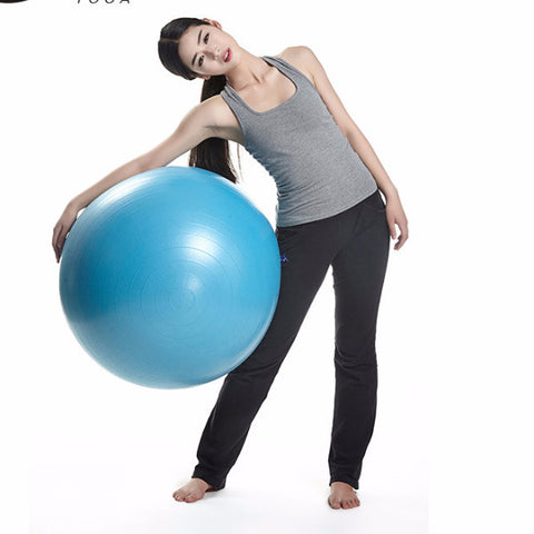 YOGA Professional 75CM Fitness Exercise  Ball/ Explosion-proof/ Fitness Equipment/ Free Shipping