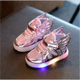 Sneakers/ Shoes With Wings and Lights