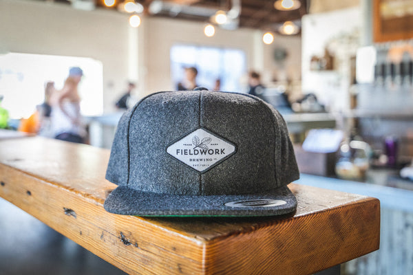 Hat (Snackback) - Dark Grey