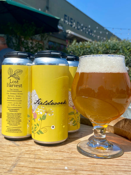 Lost Harvest Farmhouse Ale - 4-pack 16oz Cans