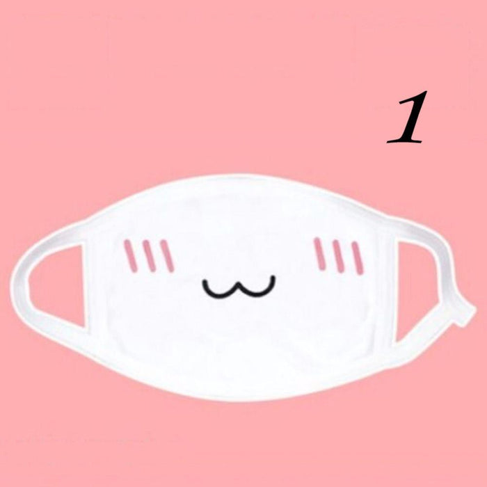 Kawaii Cotton Mouth Mask - KD Connection Official Merchandise Store