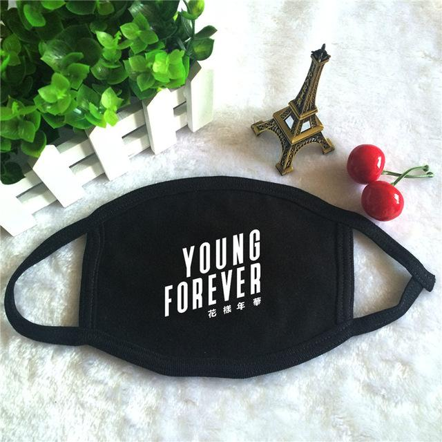 Young Forever Black Dust Mask