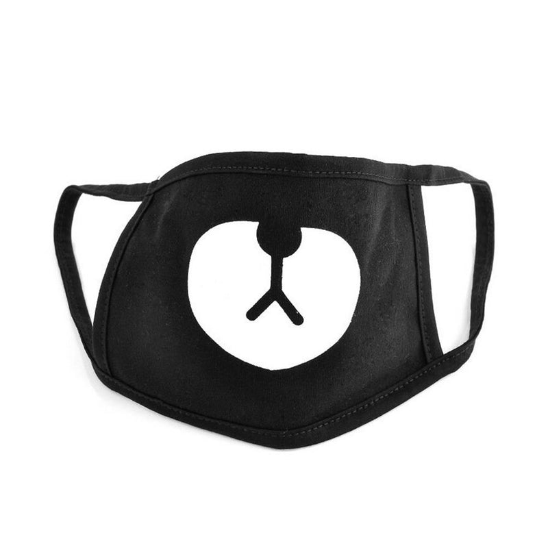 Black Bear Mouth Mask - KD Connection Official Merchandise Store