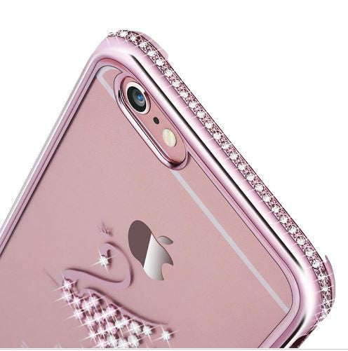 Rhinestone iPhone Case for 6/6s and 6 Plus/ 6s Plus - KD Connection Official Merchandise Store