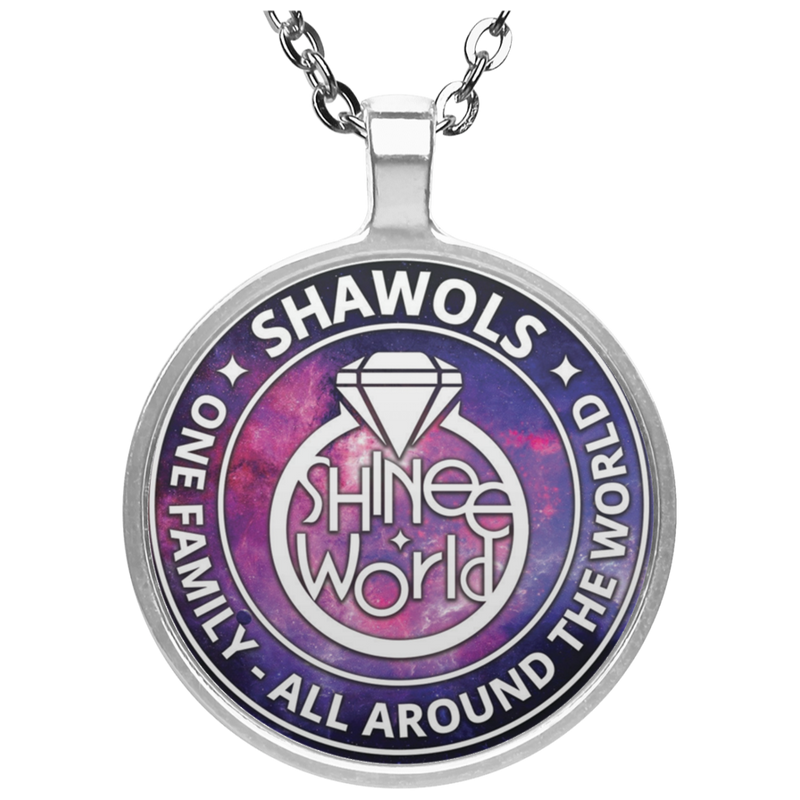 Shawol Pendant Necklace Galaxy
