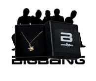 BigBang G-Dragon Crown Pendant Necklace