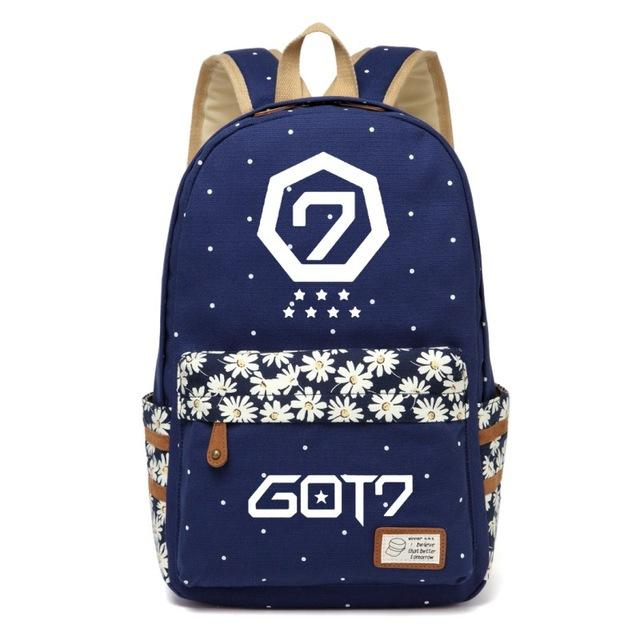 Got7 Flower Wave Backpack