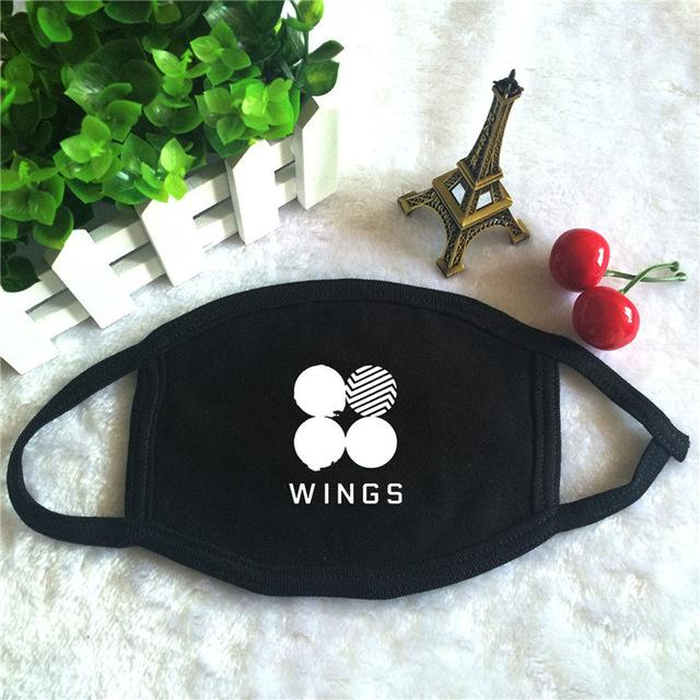 BTS WINGS Cotton Face Mask - KD Connection Official Merchandise Store