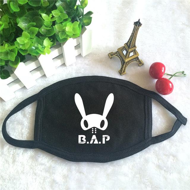 B.A.P Antidust Cotton Mask - KD Connection Official Merchandise Store