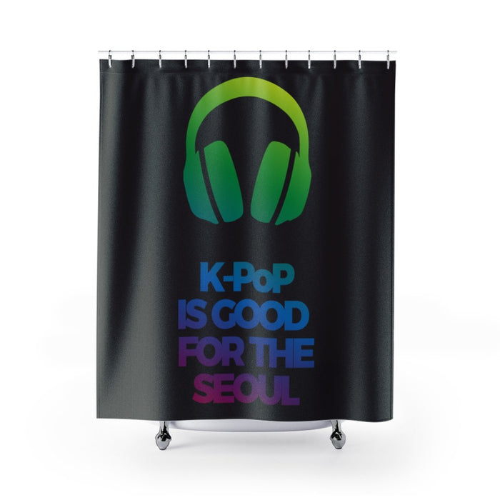 K-Pop Is Good For The Seoul Shower Curtains