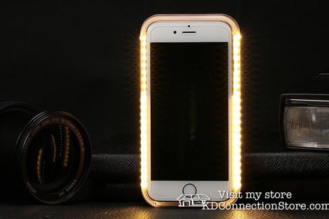 LED Selfie Phone Case for iPhone - KD Connection Official Merchandise Store