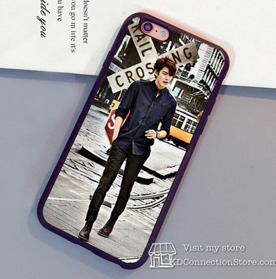 Kim Woo Bin  Soft Rubber Back Shell Cover iPhone Case - KD Connection Official Merchandise Store