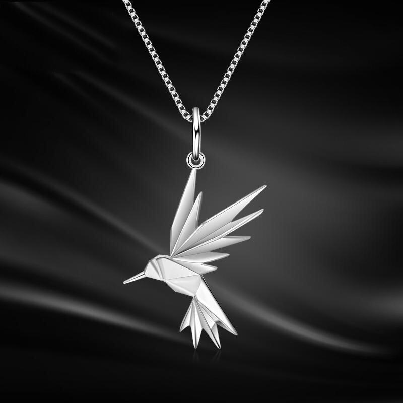 FT Island Origami Bird Pendant Necklace - KD Connection Official Merchandise Store