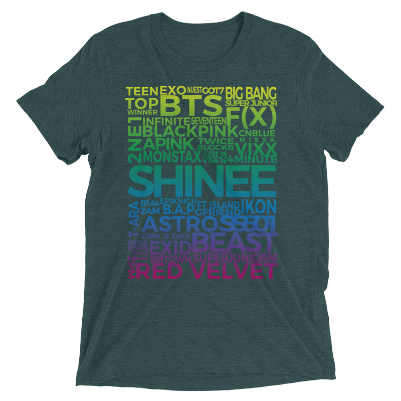 SHINee is the Best Woman's Short Sleeve Tee