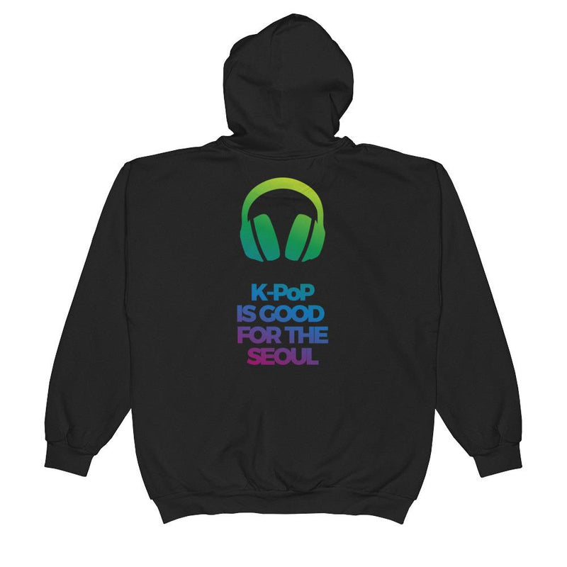 K-Pop Is Good For The Seoul Unisex  Zip Hoodie - KD Connection Official Merchandise Store