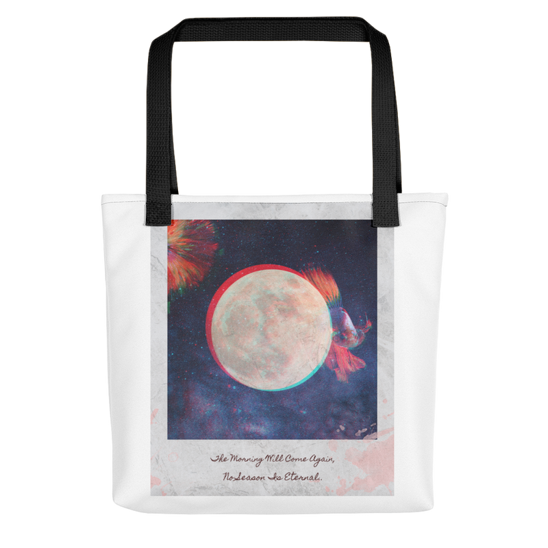 """No Season Is Eternal"" Tote"