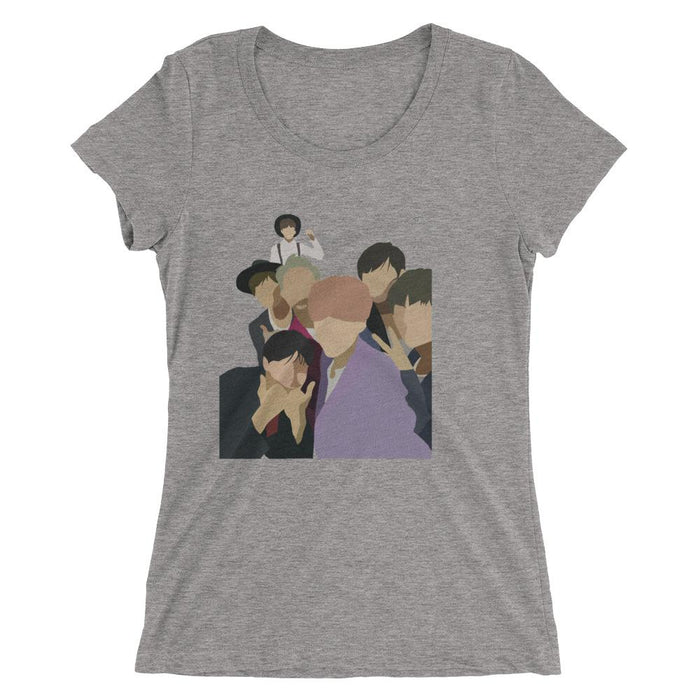 BTS Abstract Custom Tri-Blend Tee - KD Connection Official Merchandise Store