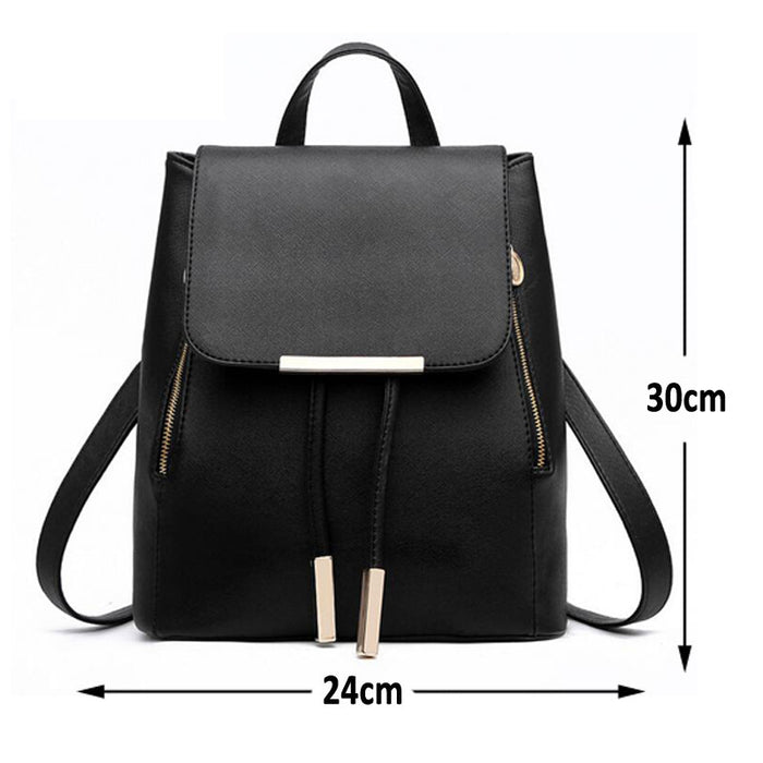 High Fashion Pleather Backpack - KD Connection Official Merchandise Store
