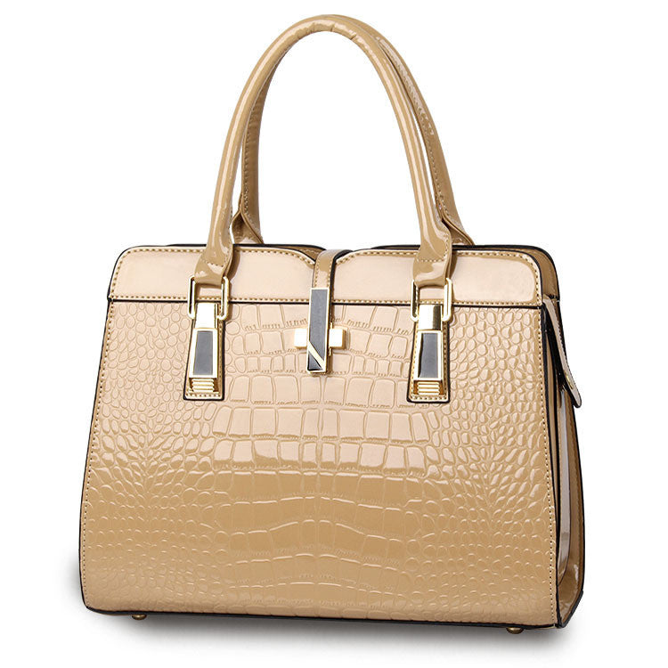"""Tina"" Top Handle Print Embossed Handbag - KD Connection Official Merchandise Store"
