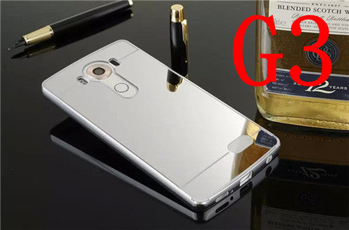 Aluminum Metal Mirror Phone Case for LG - KD Connection Official Merchandise Store