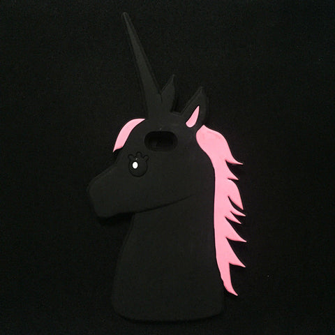 3D Unicorn Silicone iPhone Case - KD Connection Official Merchandise Store