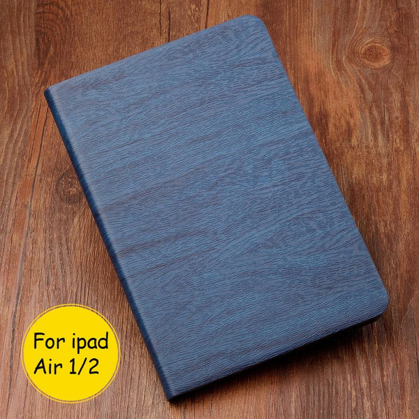 iPad Wood Grain Leather Protective Case - KD Connection Official Merchandise Store