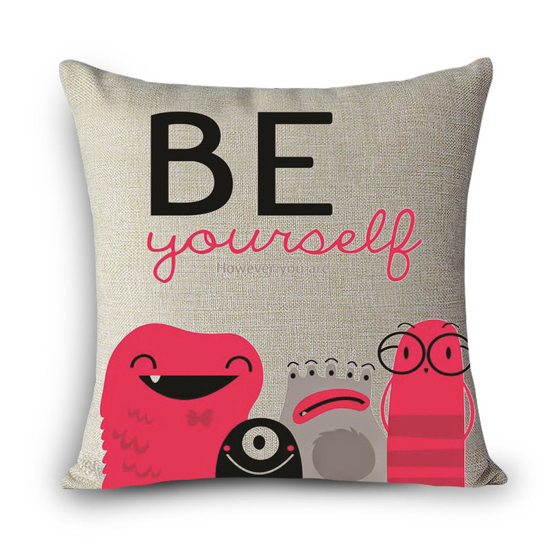 Fun Decorative Sayings Pillows - KD Connection Official Merchandise Store