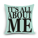 Cute Decorative Sayings Pillow - KD Connection Official Merchandise Store