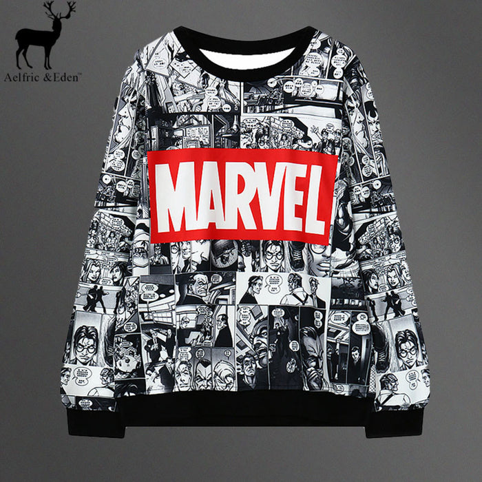 Marvel Sweatshirt - KD Connection Official Merchandise Store