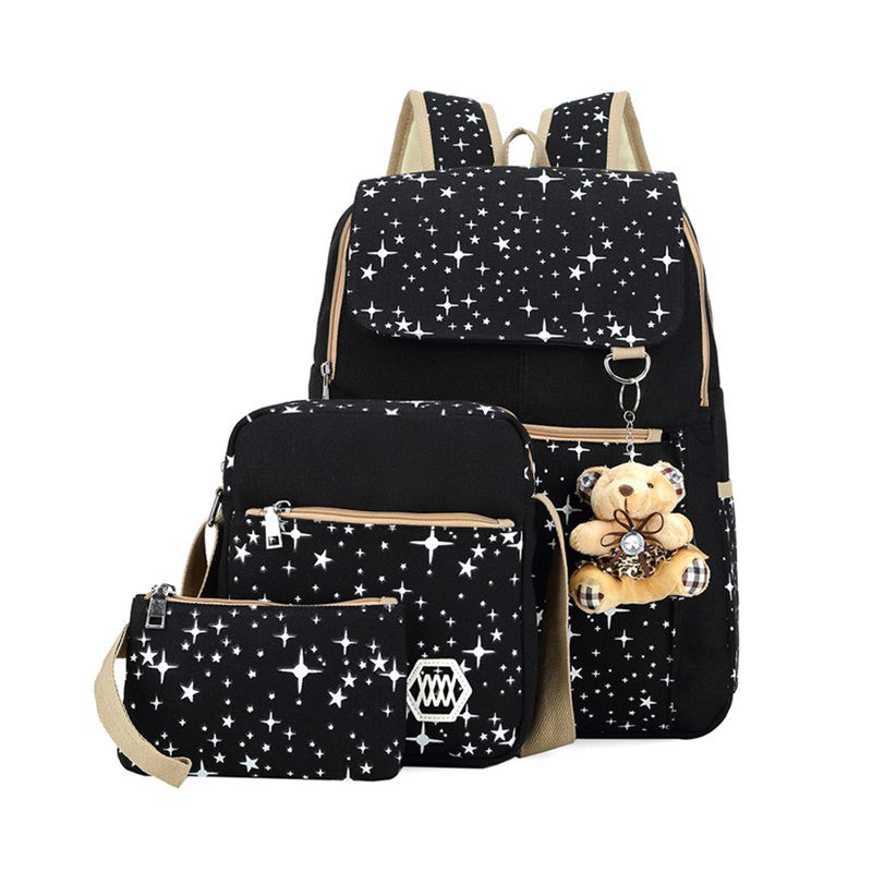 Starry Night 3 Piece Backpack Set - KD Connection Official Merchandise Store