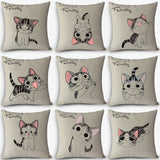 Cute Kitty Decorative Home Pillow - KD Connection Official Merchandise Store