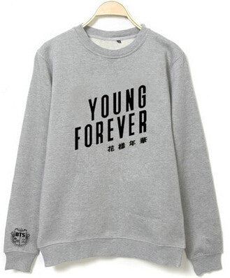 BTS's Forever Young Pullover Sweatshirt - KD Connection Official Merchandise Store