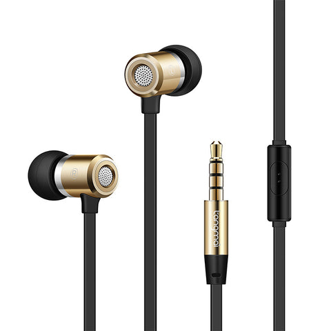 Earphones With Premium Bass Stereo, Tangle Free Cable, and Microphone - KD Connection Official Merchandise Store