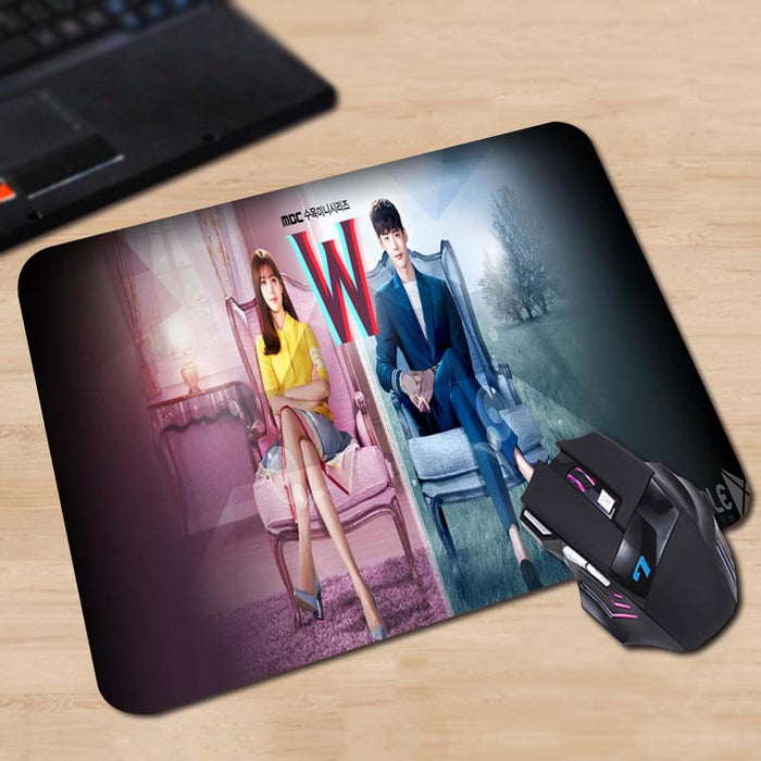W Mouse Pad - KD Connection Official Merchandise Store