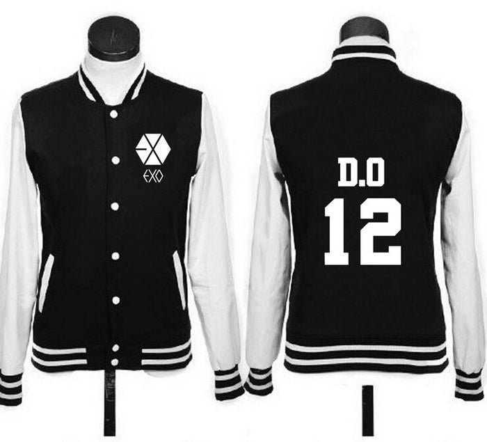 EXO Button Up  Women's Jacket - KD Connection Official Merchandise Store