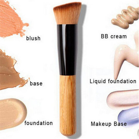 Concealer Brush w/ Wooden Handle - KD Connection Official Merchandise Store