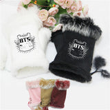 BTS Adjustable Mittens