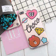 """Choco"" iPhone Phone Case - KD Connection Official Merchandise Store"