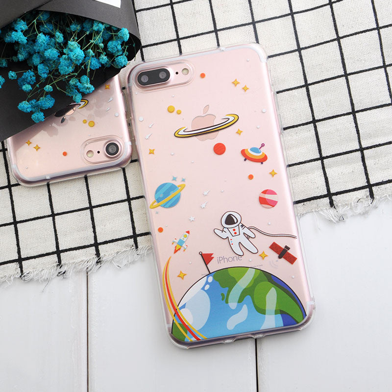 """Man over Earth"" iPhone Phone Case - KD Connection Official Merchandise Store"