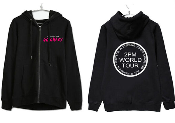 2PM Concert Zip Up Hoodie - KD Connection Official Merchandise Store