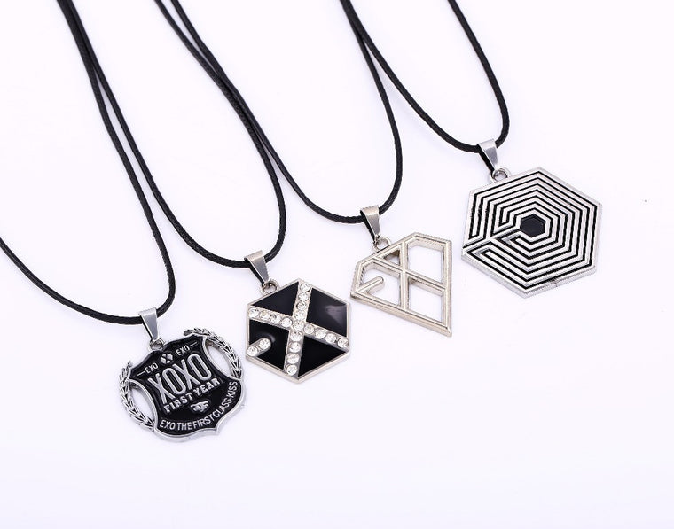 EXO Pendant Necklace Collection