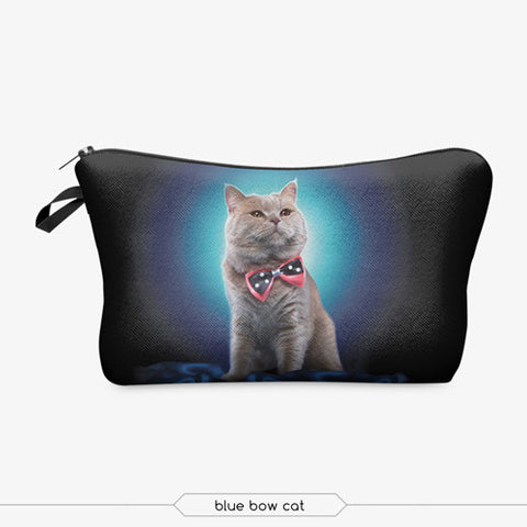 """Kitty Shine"" Cosmetic Case - KD Connection Official Merchandise Store"